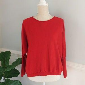 🌿Eileen Fisher Oversized Cropped Merino Sweater